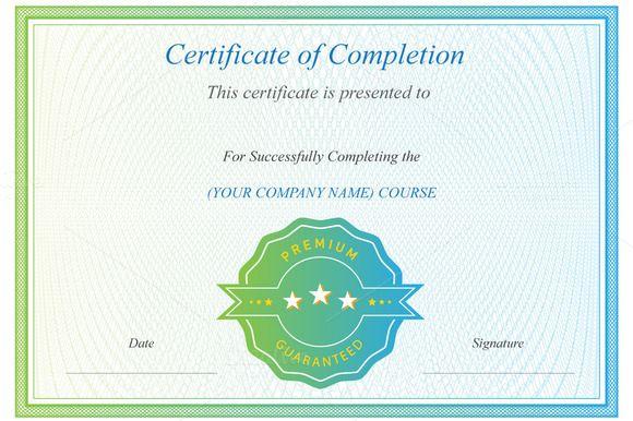 Award Certificate Template – Creative Certificate Designs