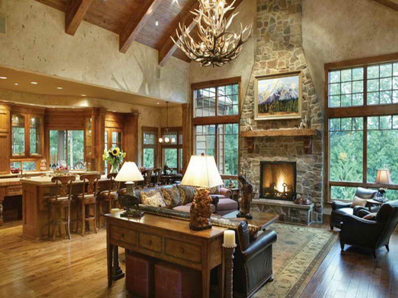 Ranch House open interior | Open Floor Plan Ranch Style ...