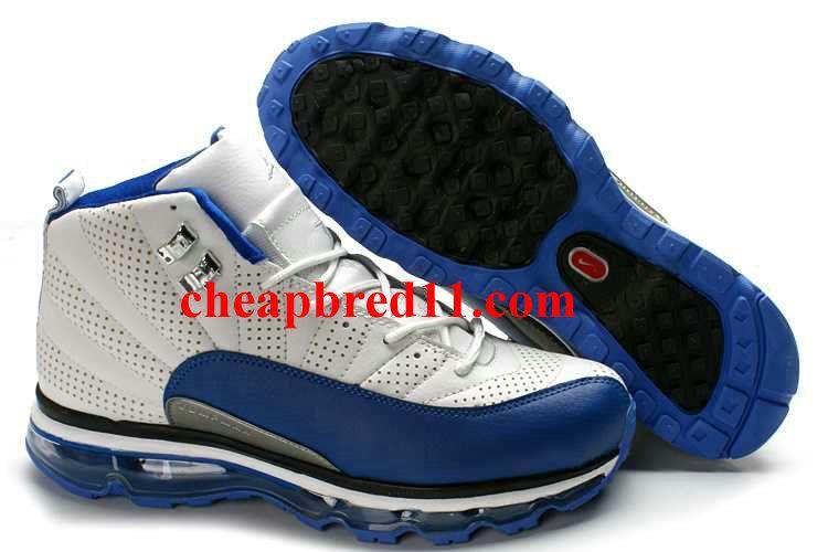 Obsesión Viaje Distraer  Air Jordan 12 + Air Max Fusion White University Blue - Black/Blue Sole | Nike  air max jordan, Air jordans, Mens nike air