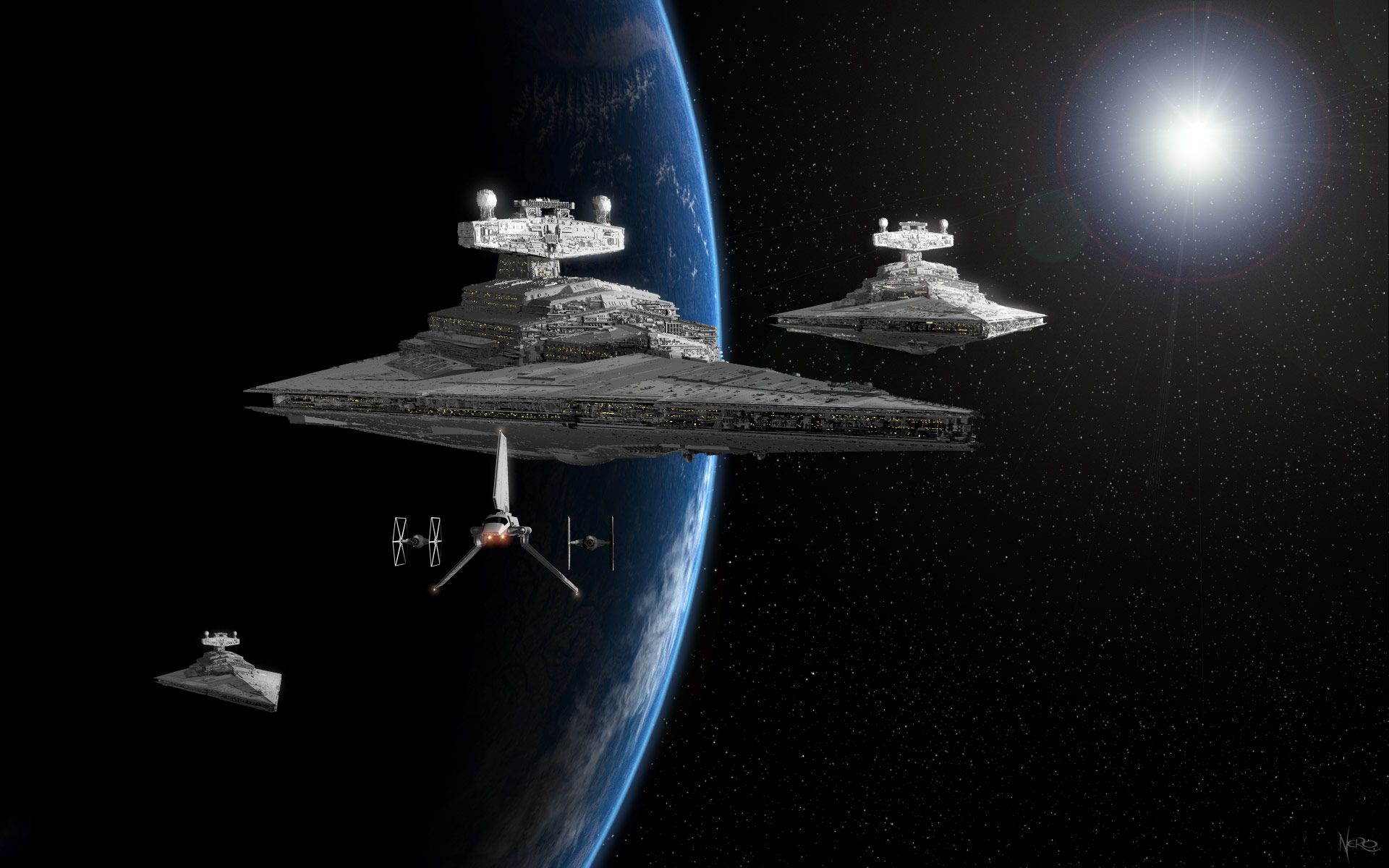 Star Wars Star Destroyer ³ンセプトアート ¹ターウォーズ ¢ート