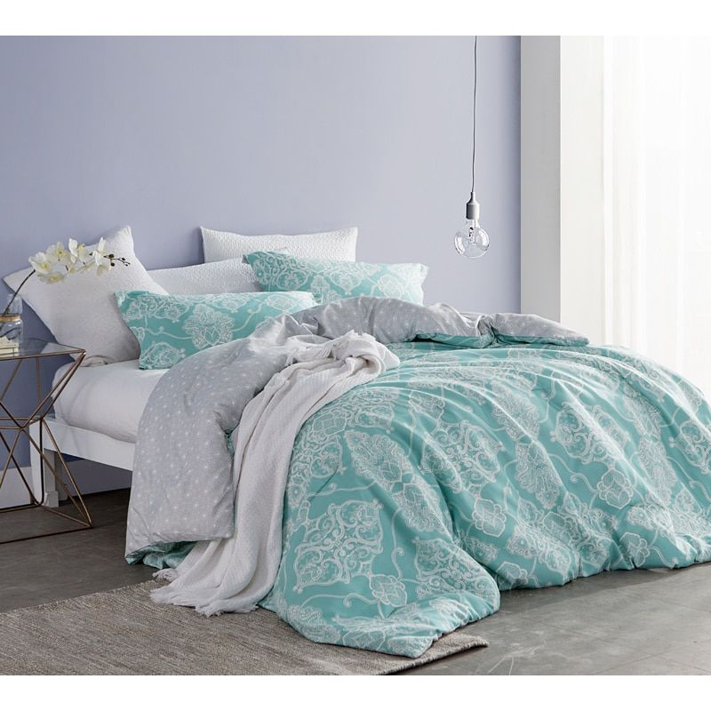 Byourbed Alberobella Minty Aqua Comforter Redo Pinterest