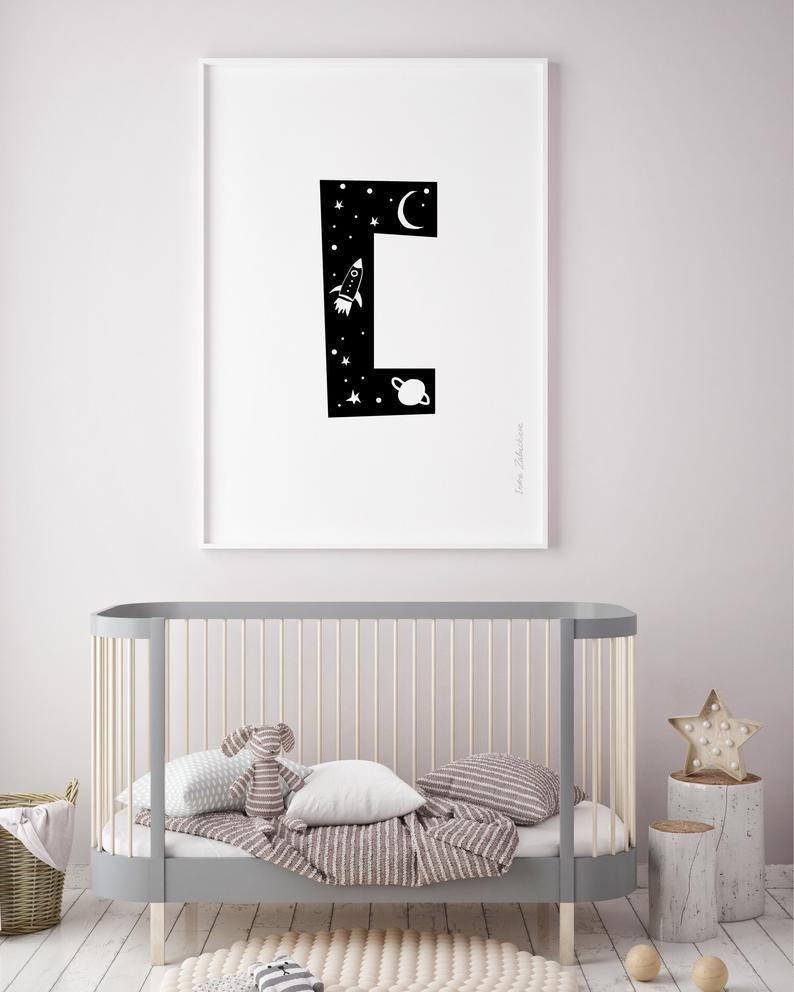 Letter C For Toddler Room Decor