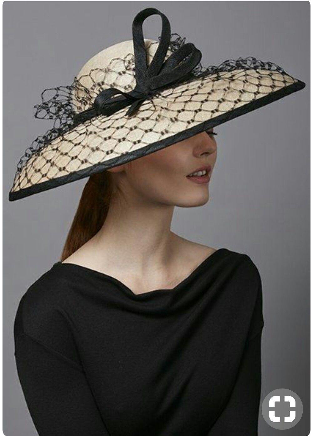 Pin By Fatima Zuniga On Ladies Hat S Wedding Hats Elegant Hats Couture Hats