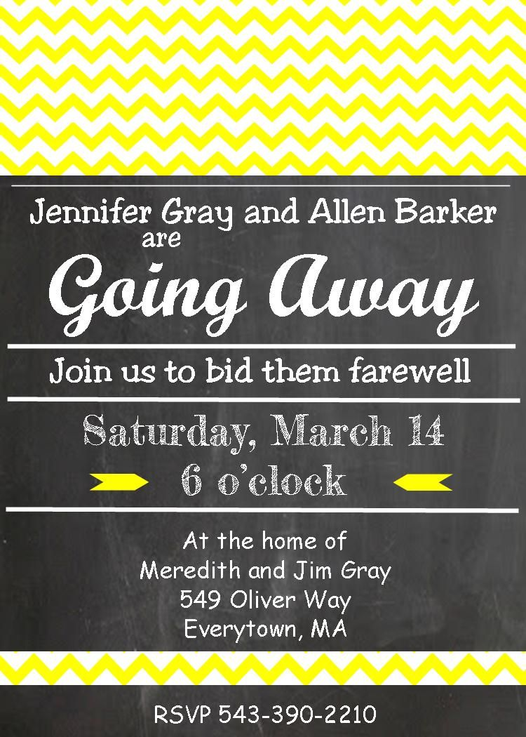 Going away party invitations new selections summer 2016 londyn going away party invitations new selections summer 2016 stopboris Image collections