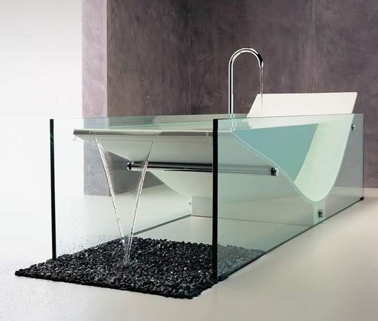 Designer Bathtub the minimalist le cob bath collection from omvivo ceo & chief
