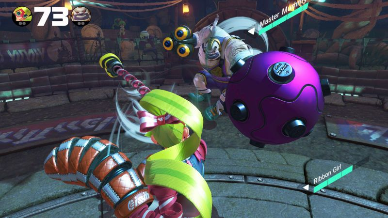 Arms Shows That Switch Motion Controls Might Actually Be
