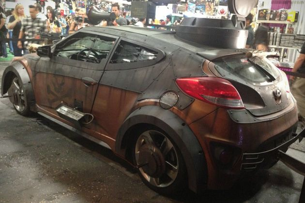 2013 Hyundai Veloster Zombie Survival Machine 4 Art Inspiration