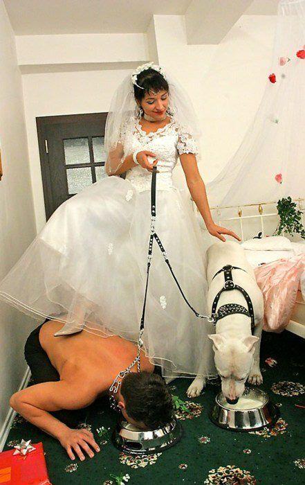 Wife Treats Husband Like A Dog