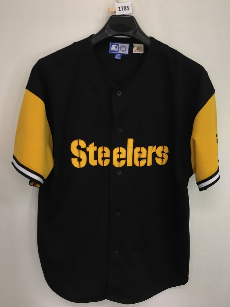 MENS 2XL KORDELL STEWART  10 PITTSBURGH STEELERS VINTAGE STARTER NFL SEWN  JERSEY  Starter  PittsburghSteelers 59782ad4d