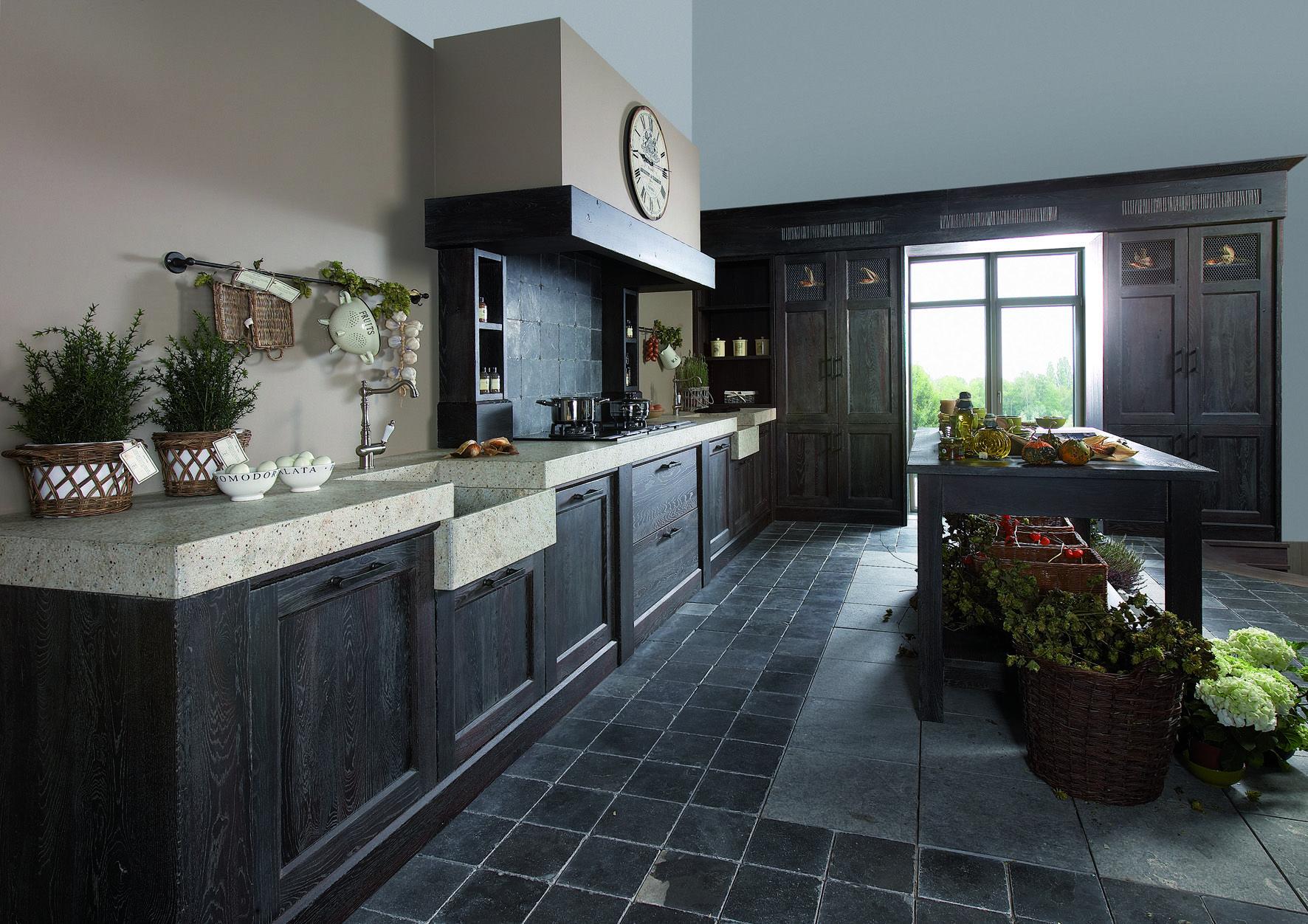 Eine Zeillose Landhaus Küche