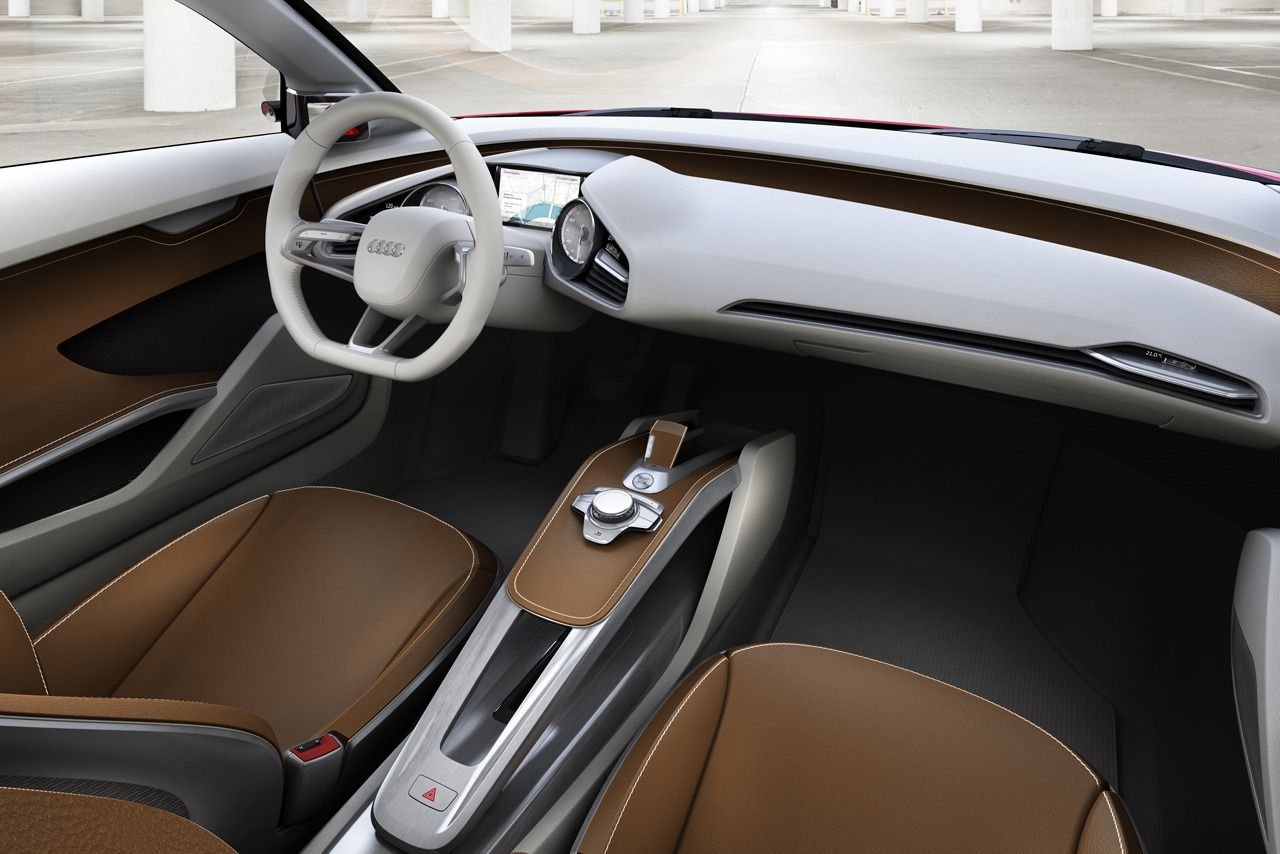 Audi E Tron Interior Looks Peaceful Cars I Love Pinterest
