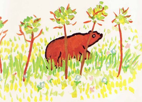 Vintage Kids' Books My Kid Loves: Did a Bear Just Walk There?
