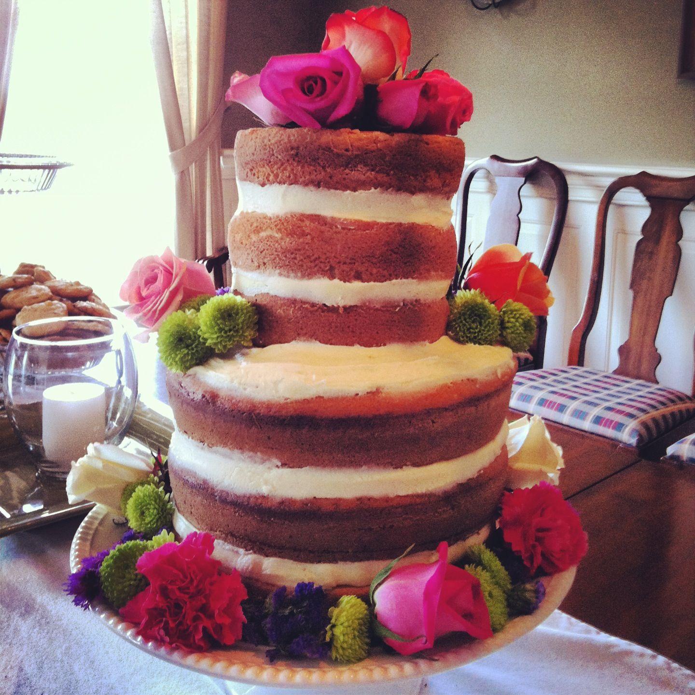 Weddings My engagement party cake naked