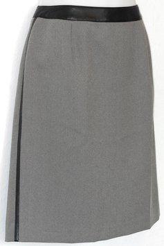 Norton McNaughton Tweed Skirt Black & White