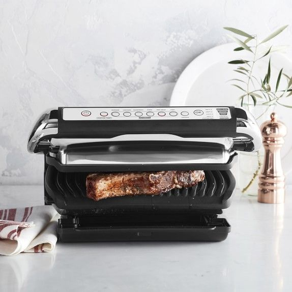 All Clad Electric Indoor Grill With Autosense Williamssonoma