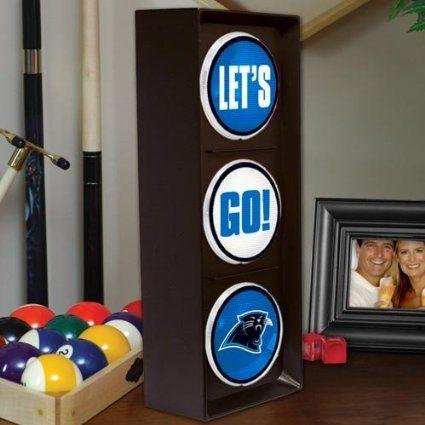 best authentic 47034 ecc11 Amazon.com: NFL Carolina Panthers Flashing Let's Go Light ...