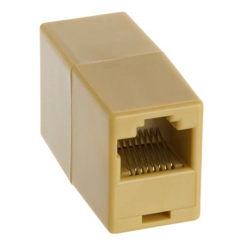 Rj45 Coupler F F Straight By Ziotek 3 05 Make A Network Extension Cord Out Of Two 10base T Cat 5 Network Patch Cables With An Rj45 Electronic Cables Inline