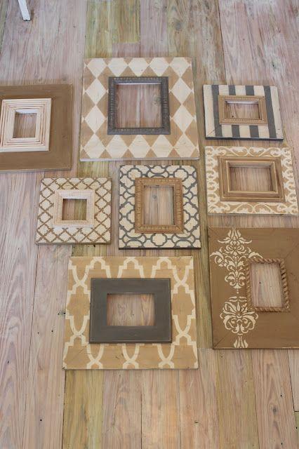 DIY Frame Inspiration   Idées bricolage   Pinterest   Marcos, Cuadro ...