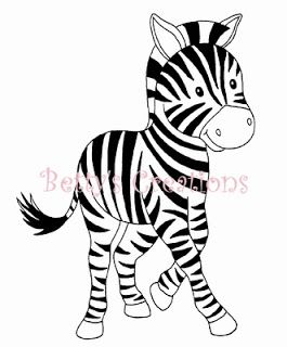 zebra, stamp, silhouette, line drawing, cute