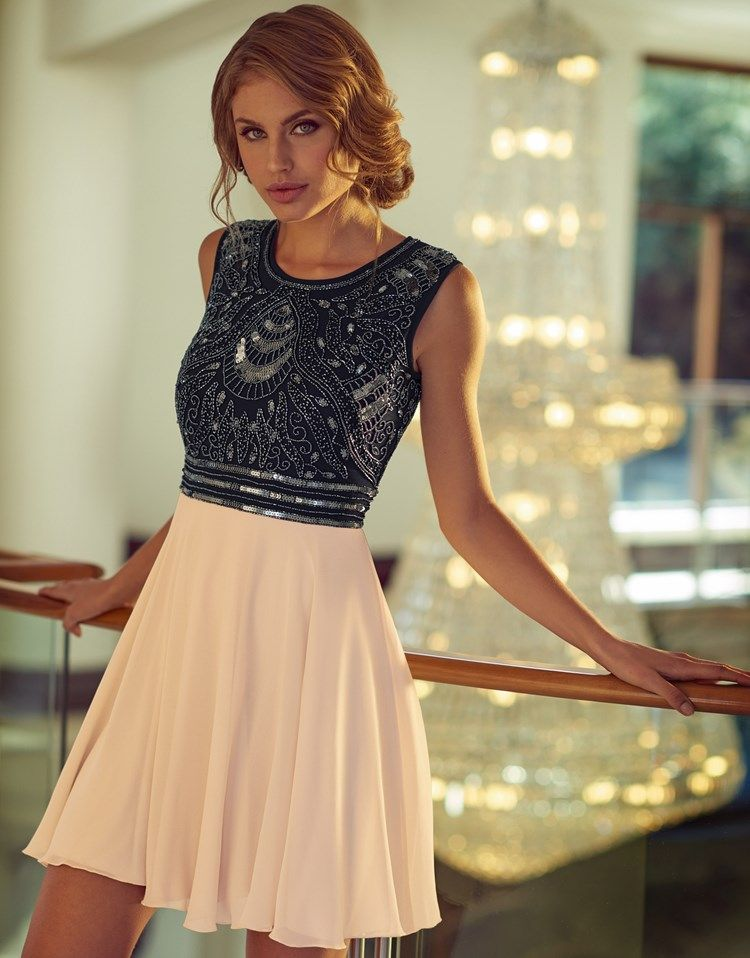 94ed972a5bd0d Lace & Beads Embellished Top Skater Dress | Buy This For Me PLEASE ...