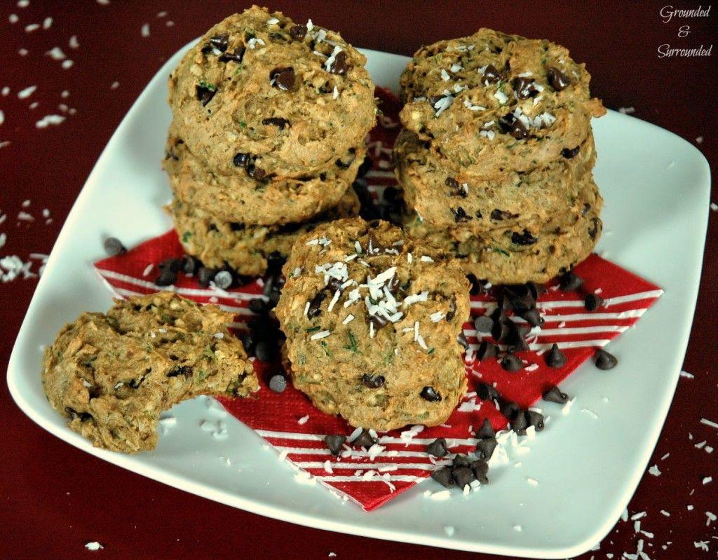 Coconut zucchini cookies recipe gluten free christmas