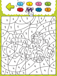 coloring smart and education for app review