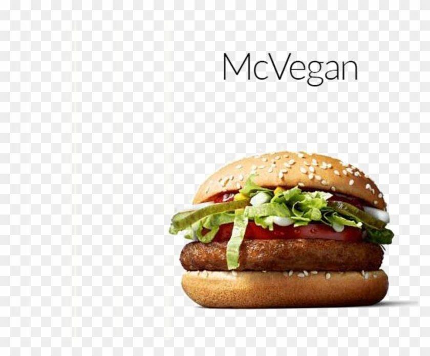 Find Hd Mcdonalds Burger Png Transparent Image Mcdonalds Vegan Burger Usa Png Download To Search And Download More Free Tran In 2020 Vegan Burgers Burger Mcdonalds