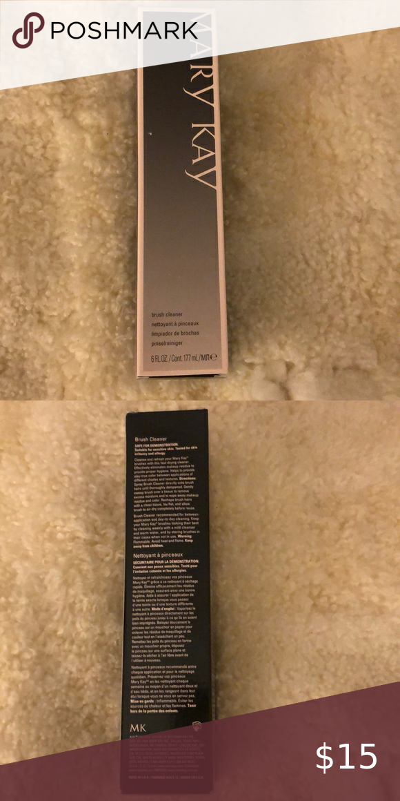 Photo of Mary Kay Brush Cleaner Fast drying brush cleaner eliminates makeup residue to pr…