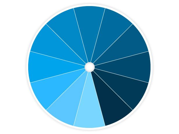 Color Wheel Primer Monochromatic Color Scheme Color Wheel Art Color Wheel Design