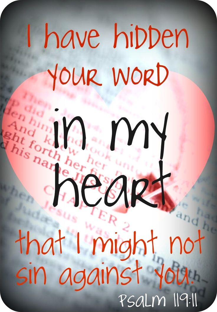 Image result for your word have i hidden in my heart