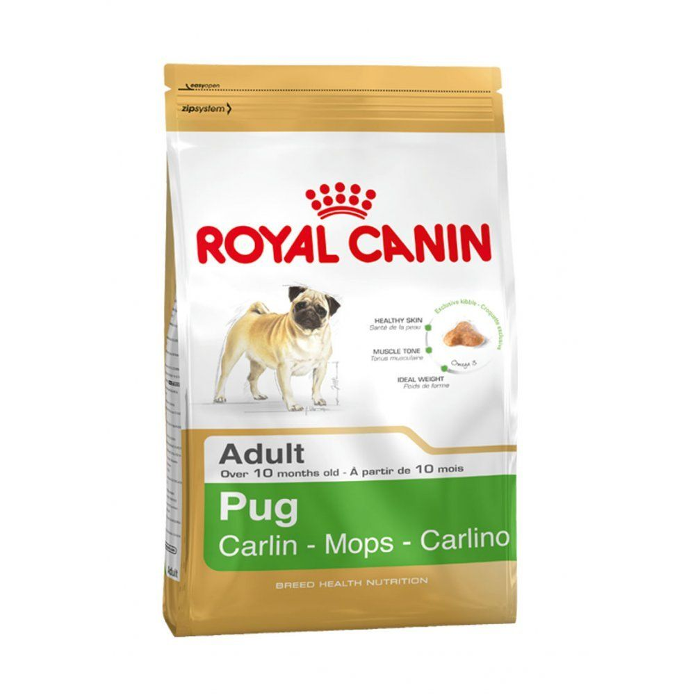 Royal Canin Pug Complete Adult Dry Dog Food 1 5kg For More