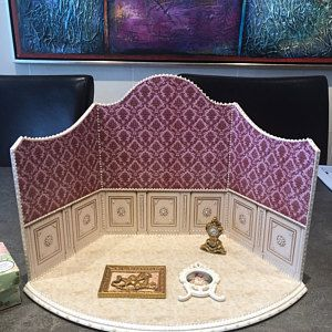 The roombox showcase for installations.Miniature Display . Dollhouse miniature. 1:12 Scale #miniaturetoys