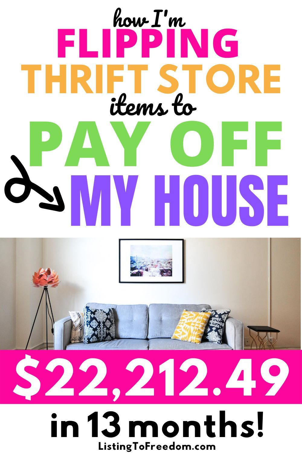 Paying Off Mortgage Early By Selling On eBay in 2020