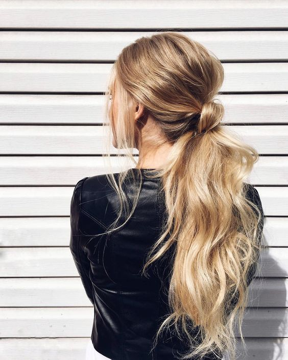 Simple Diy Hairstyles Everyday: Long Hair, Casual Ponytail, Hairstyle