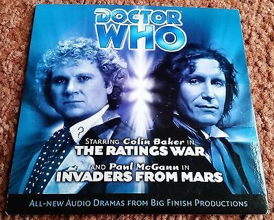 #Doctor who audio cd: the #ratings war & part 1 of #invaders from mars (big finis,  View more on the LINK: http://www.zeppy.io/product/gb/2/252255913328/