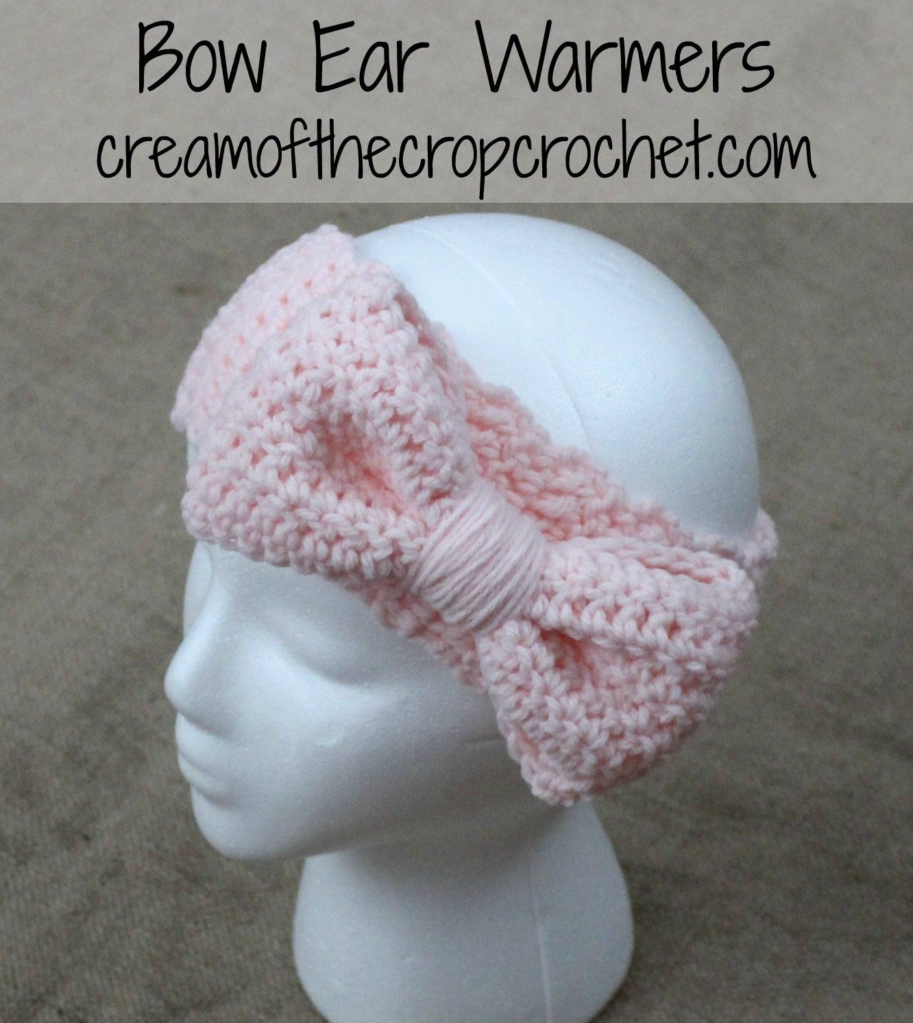 Samantha Ear Warmers Crochet Pattern | Crochet | Pinterest ...