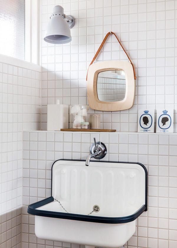 Épinglé par Astrid Weill sur Bathroom Pinterest Carreaux blancs