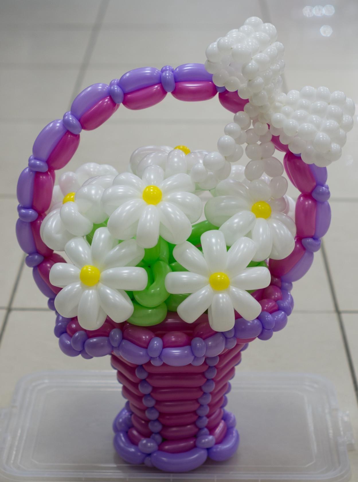 Красивые цветы из шаров картинки