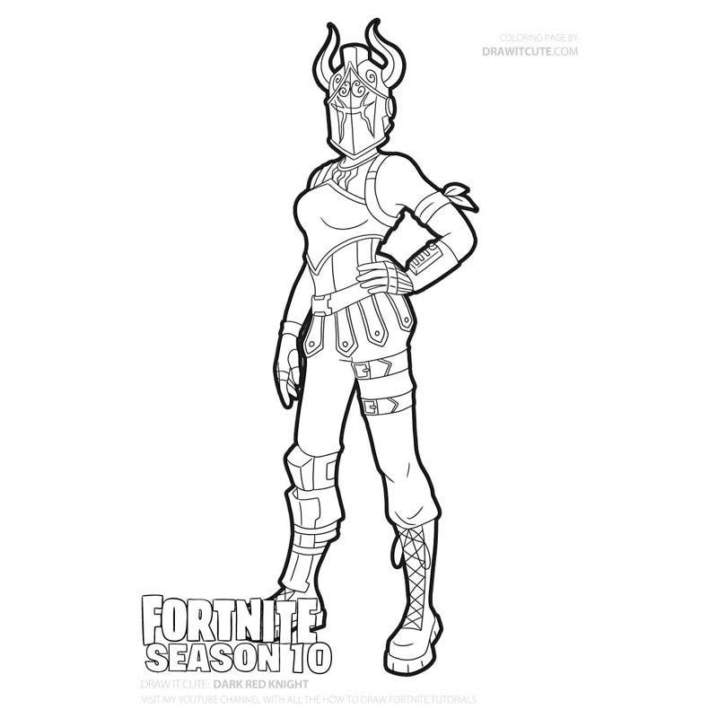 Dark Red Knight Red Knight Fortnite Red Knight Dark Legends Pack Fortnite Dark Legends Dark Red Kni Desenhos Para Colorir Menino Desenhos Para Colorir Desenhos