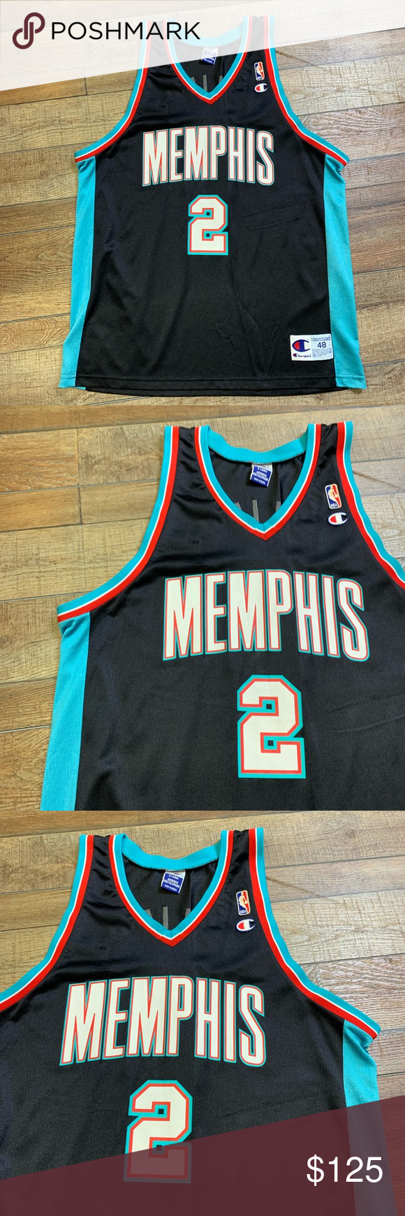 save off 7a7fd 5fb8c Jason Williams Vancouver Grizzlies NBA Jersey 48 Excellent ...