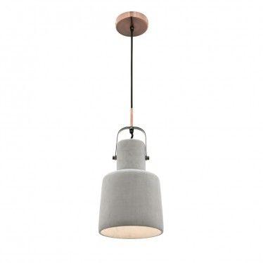 L2 1518 concrete pendant light range from