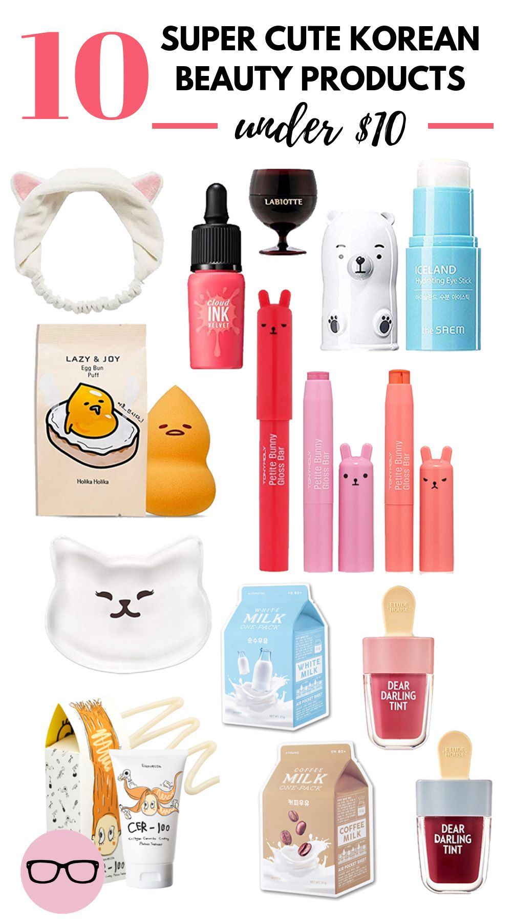 10 Cute Korean Beauty Products Under $10 ⋆ Beauty Nerd By Night