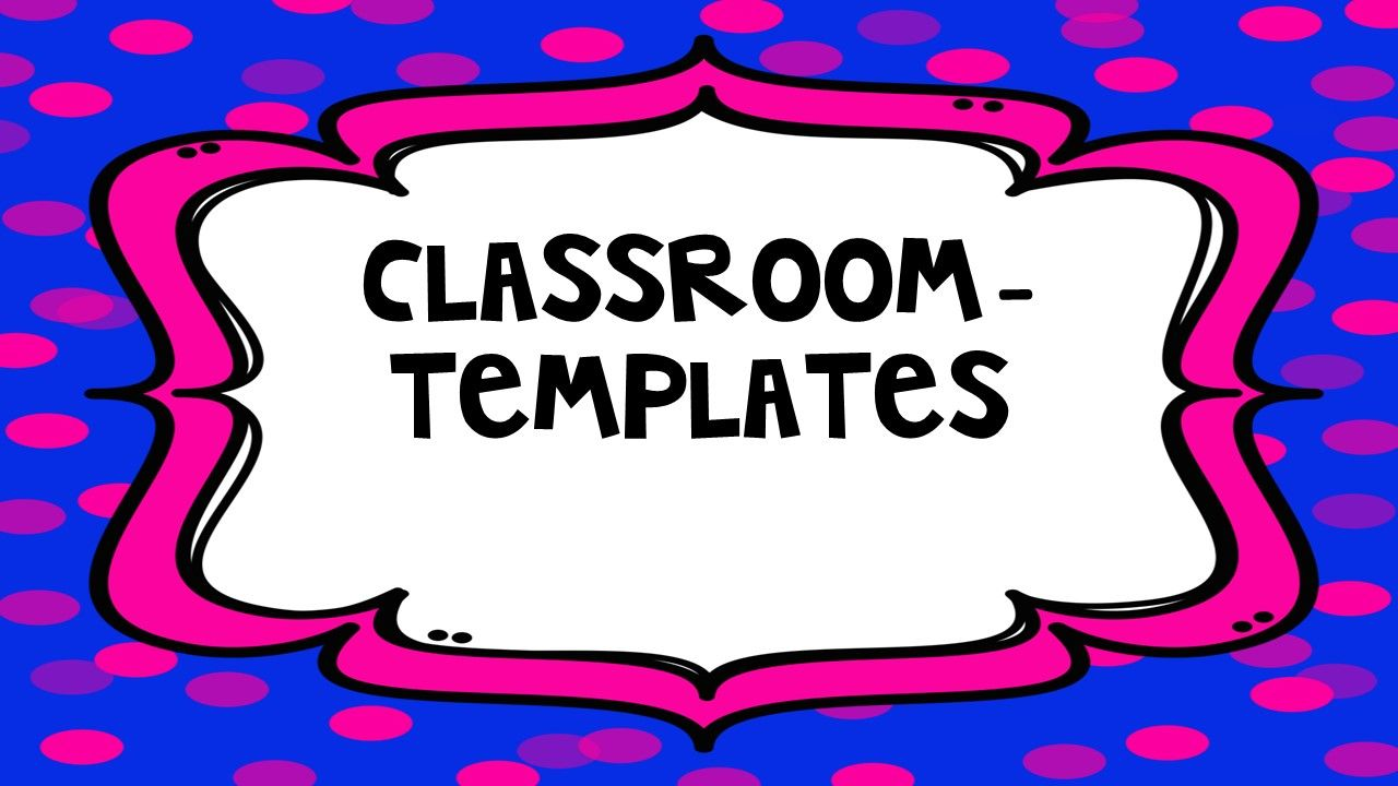 """Classroom - Templates Pinterest Board Cover  from """"Classroom Snapshots"""""""