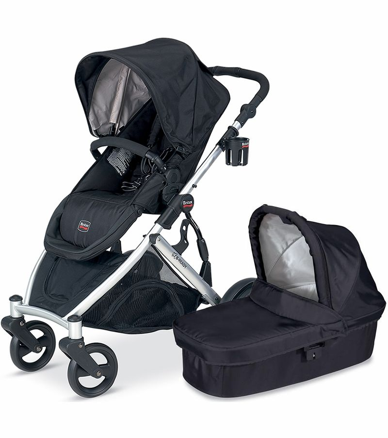Double stroller with car seat helps make daily life that