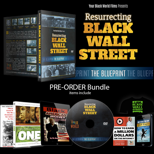 Resurrecting black wall street the blueprint dvd bookmovie 20 resurrecting black wall street the blueprint dvd your black world network malvernweather Image collections