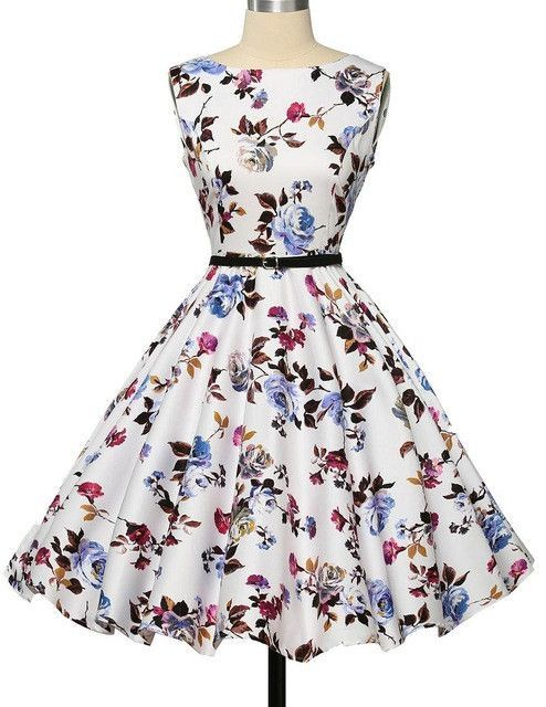 02f8cf2359948 Women Dress New Patterns 2017 Plus Size Clothing Audrey Hepburn ...