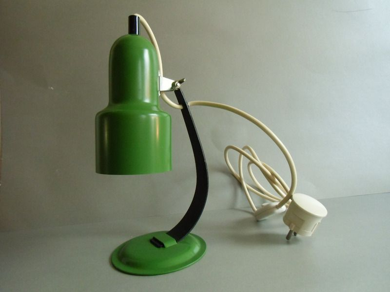 tischlampe design richard essig 70er lampe von mad tt auf vintage lampen. Black Bedroom Furniture Sets. Home Design Ideas