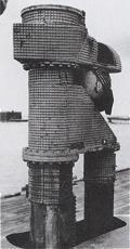 Telescopic snorkel on U-Boot Type XXI