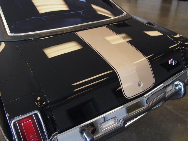 1973 oldsmobile cutlass hurst stripes rear emblem pinterest