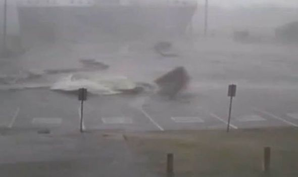 Incredible footage shows what its like to be in the path of a 95mph TORNADO